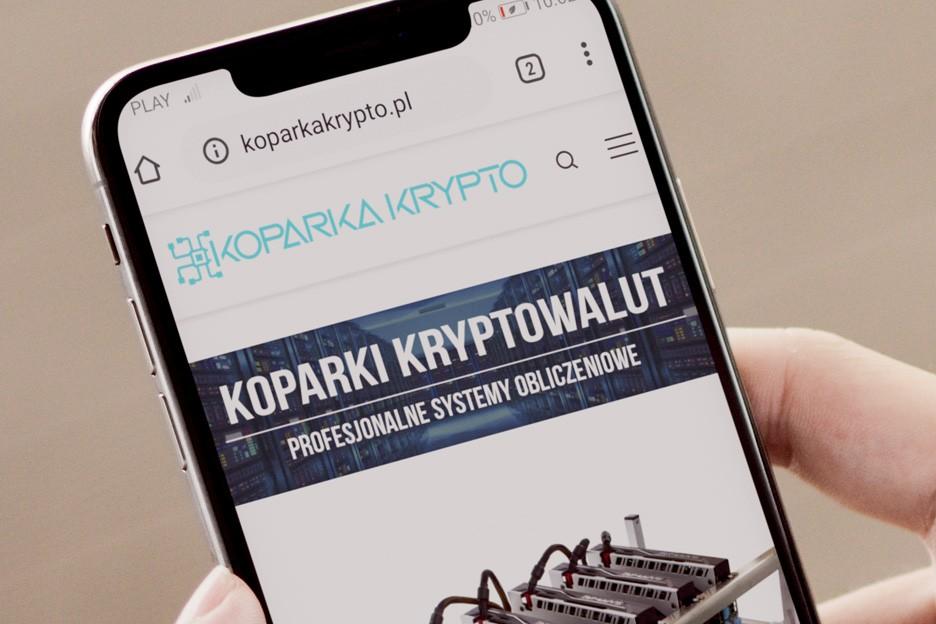 Strona internetowa mobilna
